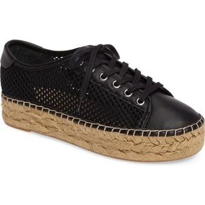 Marc Fisher Macey Espadrilles Sneakers Black 7.5
